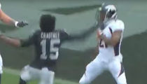 Aqib Talib, Michael Crabtree Ejected From Broncos-Raiders Game After Fight