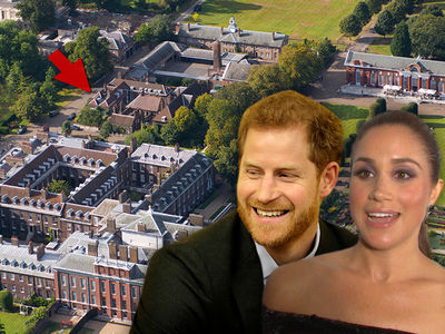 Meghan Markle and Prince Harry to Live in Apartment in Nottingham Cottage