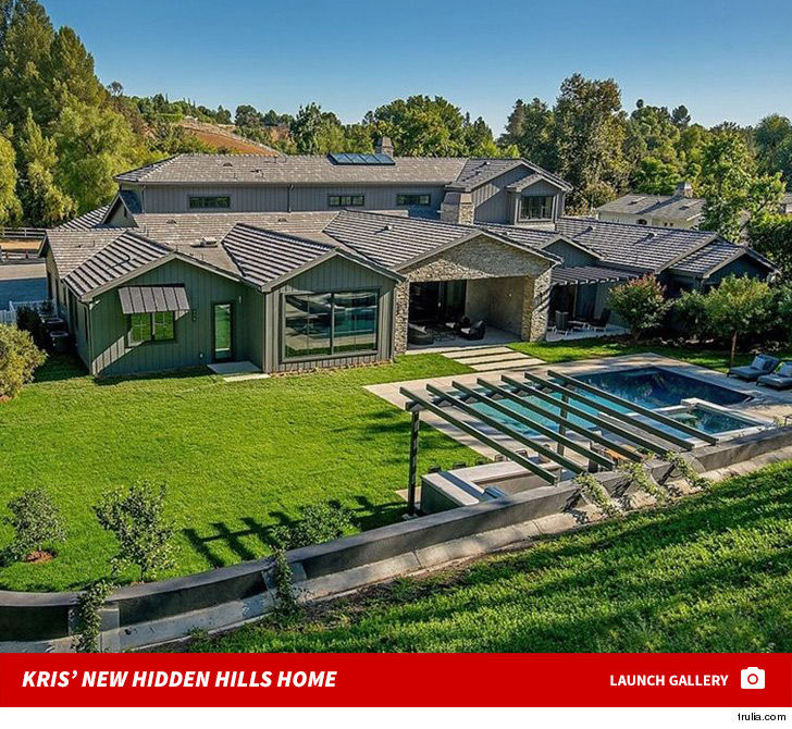 Kris Jenner Is Downright Baronial Plunking Down 9 Million On Another Hidden Hills Property