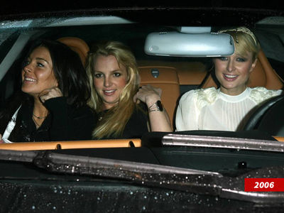 Britney Spears, Paris Hilton and Lindsay Lohan 11-Year Anniversary