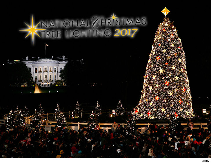 donald trumps first national christmas tree lighting is gonna be bigger than barack obamas last one at least when it comes to the amount taxpayers
