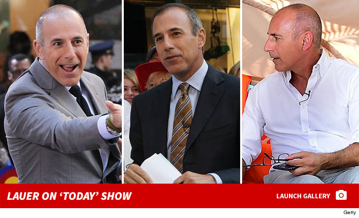 Cock photos of matt lauer