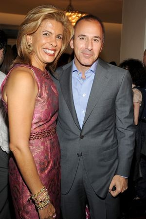 Matt Lauer and Hoda Kotb Together