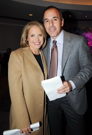 Matt Lauer and Katie Couric Photos