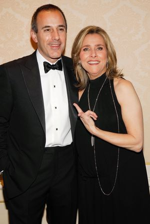 Meredith Vieira and Matt Lauer Together