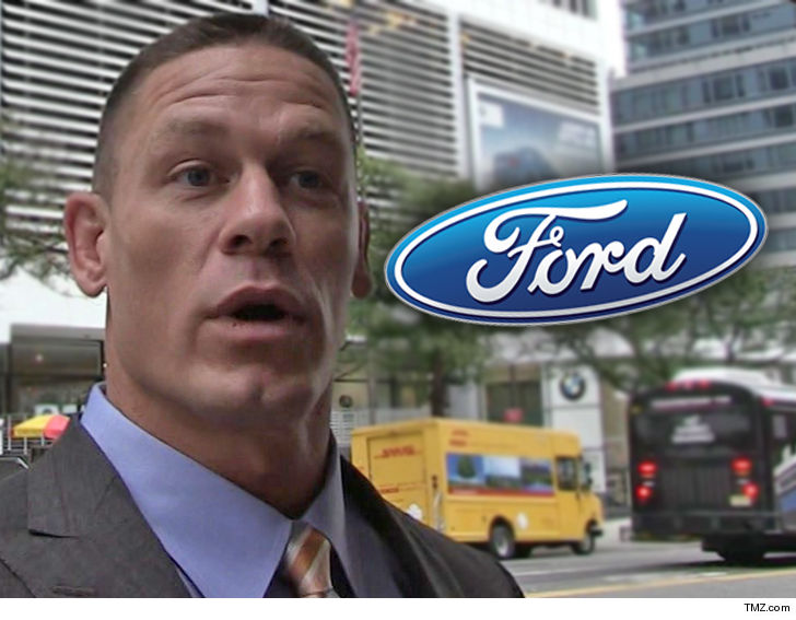 c3167af9b92b John Cena is on Ford s    % list for allegedly flipping his new  500k  17  Ford GT -- violating a contract with the company -- and they re takin  him  to ...