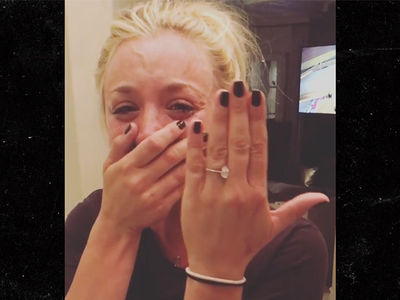 Kaley Cuoco Gets Engaged to Karl Cook