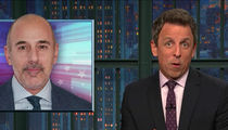Seth Meyers Goes After Matt Lauer for Sexual Harassment