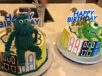 Kim & Kourtney Kardashian Throw Sons Joint Merry Monster Mash Birthday