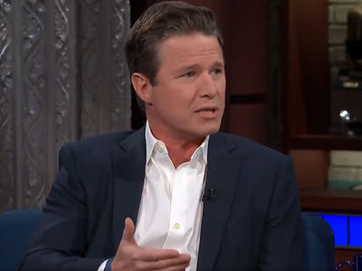 Billy Bush Tells Stephen Colbert He Went After Trump to Stand Up for His Accusers