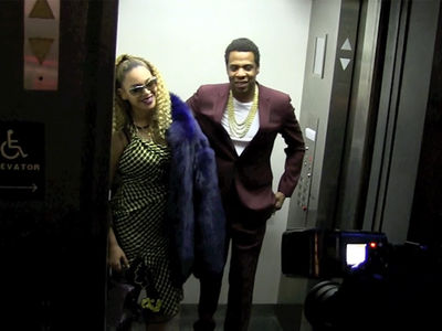 Jay-Z Celebrates 48th Birthday with Beyonce in an Elevator