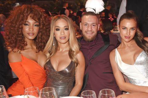 Jourdan Dunn, Rita Ora, Conor McGregor & Irina Shayk