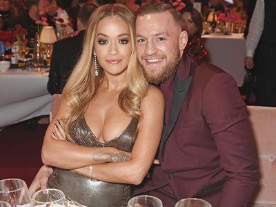 Rita Ora: 'Date Night' with Conor McGregor at Fashion Awards