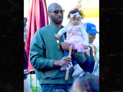 Kobe Bryant & Fam Hit Disneyland for Baby Mamba's 1st Birthday