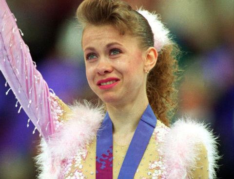 Ukrainian figure skater Oksana Baiul was only 16 years old when she won the gold medal in ladies singles over Nancy Kerrigan and Tonya Harding at the 1994 Winter Olympics in Norway.