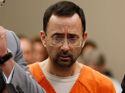 Team USA Doc Larry Nassar Gets 60 Years In Prison in Child Porn Case