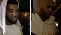 Timberwolves Stars Party at Hollywood Club After Smashing Clippers