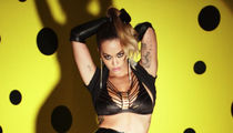 Rita Ora in Leather and Lace for LOVE Advent Calendar