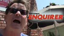 Charlie Sheen Sues National Enquirer for Defamation (UPDATE)