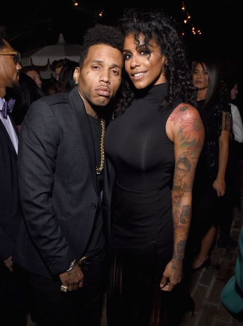 Kid Ink and Asiah Collins