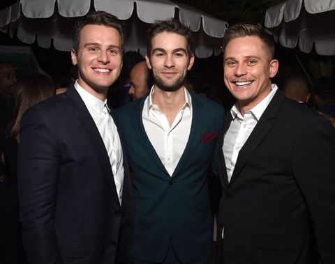 Jonathan Groff, Chace Crawford, and Billy Magnussen