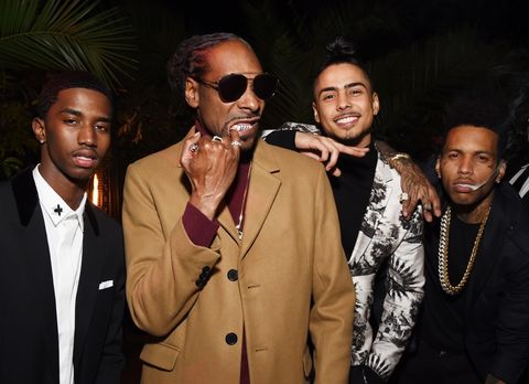 Christian Casey Combs, Snoop Dogg, Quincy Brown, and Kid Ink