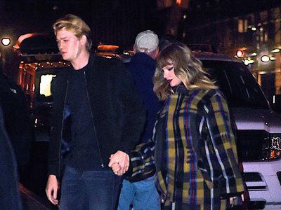 Taylor Swift and Boyfriend Joe Alwyn Show Up Holding Hands at Jingle Ball Concert
