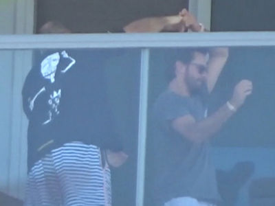 Scott Disick Dancing Drunk at 3:30 PM at Art Basel