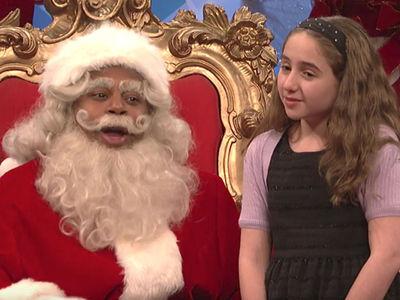 SNL Mocks Lauer, Franken, Trump in Hilarious Santa Skit