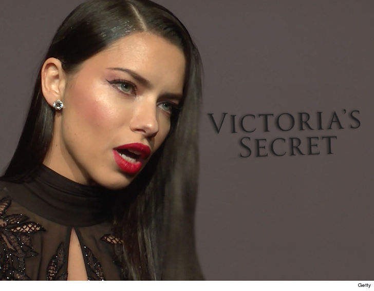 d4072b6cad Adriana Lima is not hanging up her VS angel wings anytime soon