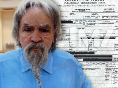 Charles Manson's Death Certificate Released, Died of Cardiac Arrest & Colon Cancer