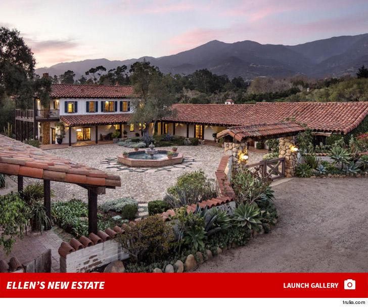 Ellen Degeneres S New Montecito House Right Next To Oprah