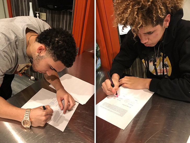 LiAngelo and LaMelo Ball: \'It\'s Not About the Money\' in Lithuania ...
