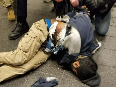 NYC Pipe Bomber Captured Alive and Identified