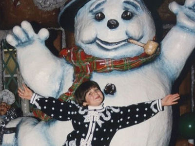 Guess Who This Snowman Sweetie Turned Into!
