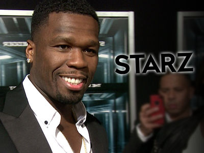 50 Cent Signs 8-Figure Deal with Starz to Extend Partnership to 2019
