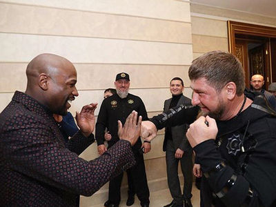 Floyd Mayweather Vouches for Anti-Gay Alleged Warlord