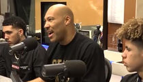LaVar Ball Says He'd Be Treated Differently If He Were White