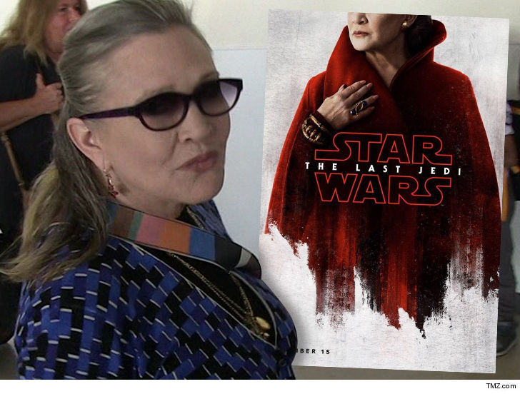 Carrie Fishers Traumatic Last Jedi Scene Hard For Family To Watch