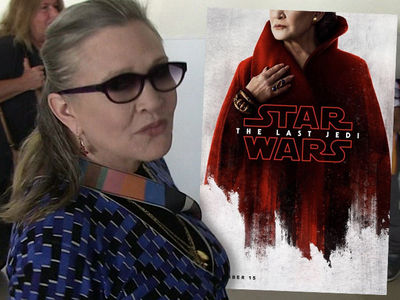 Carrie Fisher's Traumatic 'Last Jedi' Scene Hard for Family to Watch