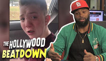 Tyron Woodley to Keaton Jones: Your Parents Are Trash, Get Away From Them