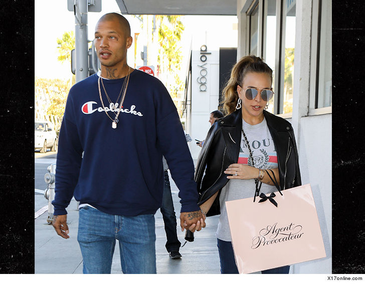 498f1e278dbb4 Jeremy Meeks and Girlfriend Chloe Green Expecting First Child ...