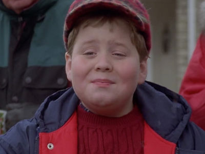 Little Johnny in 'Jingle All The Way' 'Memba Him?!
