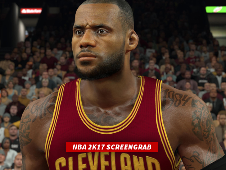 076e8184ecef LeBron James  Tattoo Artist Sues NBA2K17