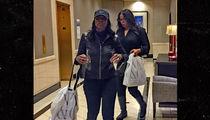 Omarosa Goes Christmas Shopping at L.A. Mall