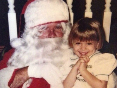 Guess Who This Santa-Lovin' Sweetie Turned Into!
