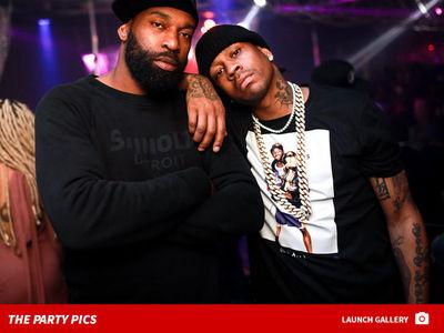 Allen Iverson & Baron Davis Crush L.A. Strip Club After Kobe Event