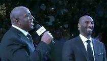 Magic Johnson Hints at Kobe Bryant Having Political Career
