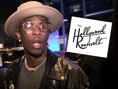 Young Thug Concert Was A Phony Deal Claims Roosevelt Hotel In Lawsuit