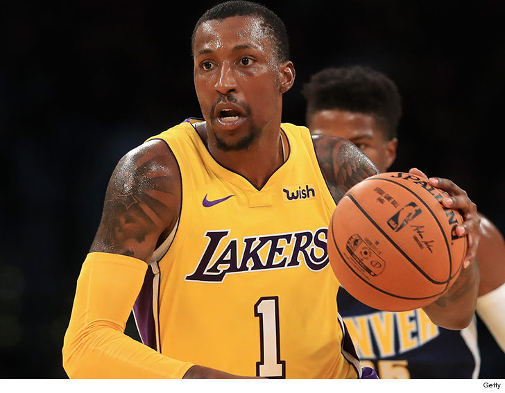 Kentavious Serving Jail Lakers